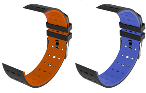 Kruven Model Q Premium Replacement Bands Pack (Orange & Blue)
