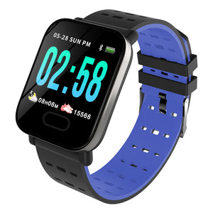 Blue Kruven Model Q Smartwatch for iPhone/Android