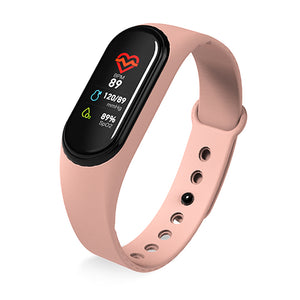 Pink Kruven Model B Smartwatch for iPhone/Android