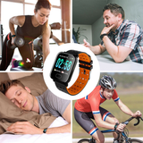 Orange Kruven Model Q Smartwatch for iPhone/Android
