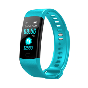 Turquoise Kruven Model X Smartwatch for iPhone/Android