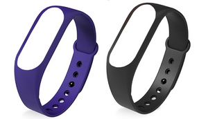 Kruven Model B Premium Replacement Bands Pack (Black & Purple)