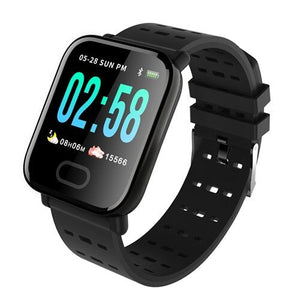 Black Kruven Model Q Smartwatch for iPhone/Android