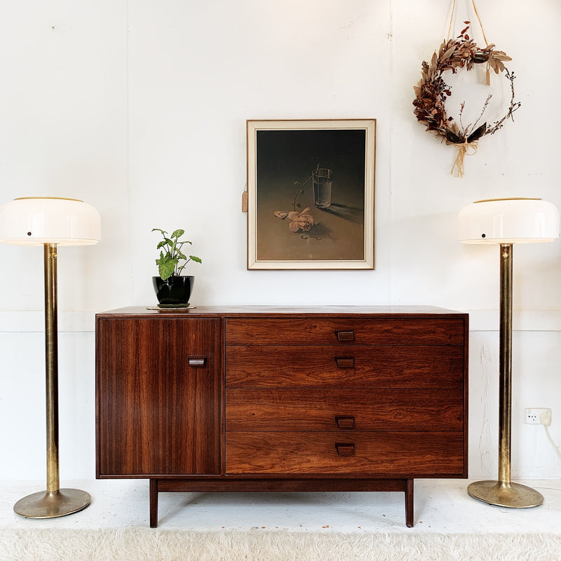 Jens Risom Danish Walnut Sideboard