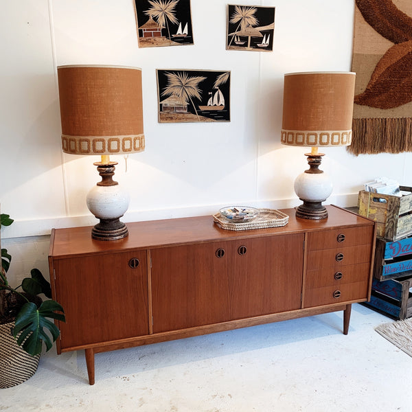 "Parker Furniture ""Nordic Collection"" Teak Sideboard"