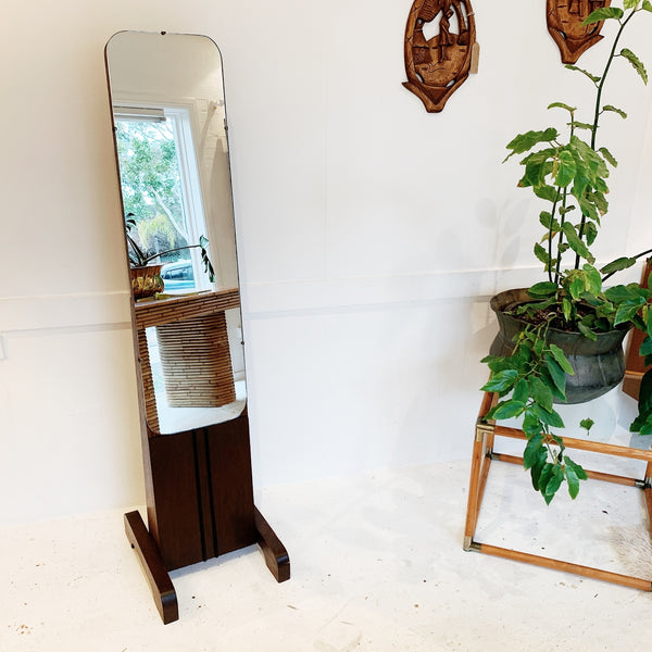 Art Deco Standing Dressing Mirror