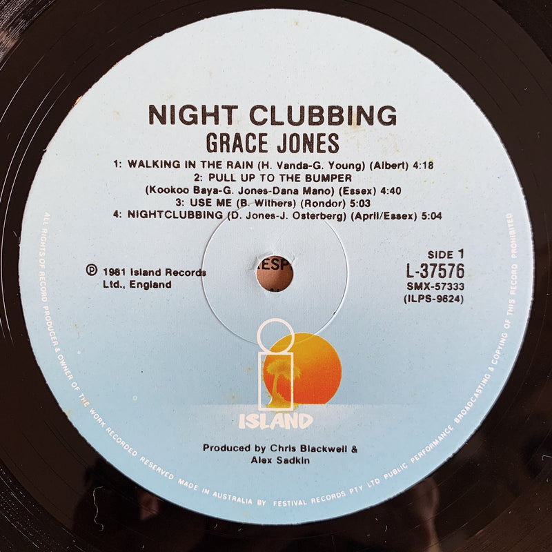 Grace Jones / Nightclubbing LP