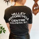 "Vintage 80s Harley-Davidson ""Valley Motorcycle Center"" Original Club Tee"