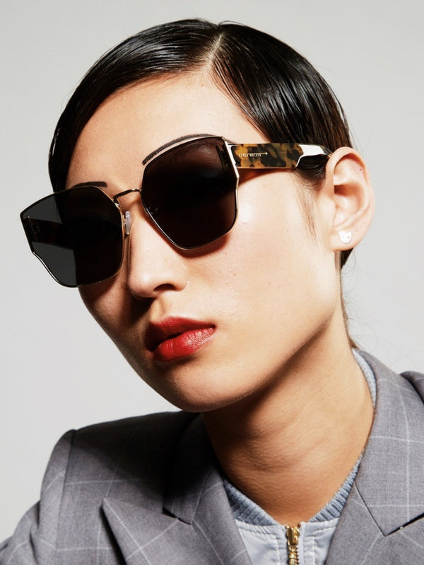 Karen Walker Eyewear Sunglasses / Oracle / Bright Gold