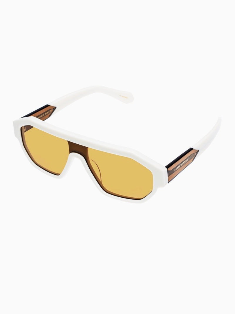 Karen Walker Eyewear Sunglasses / Tribon / Ivory