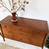 Mid Century Robinson Furniture by Drexel Teak & Walnut Sideboard