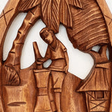 Polynesian Hand-Carved Island Life Wall Hangings