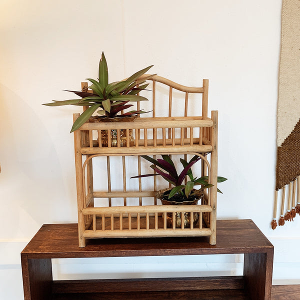 Rattan Spice Rack/Plant Tower
