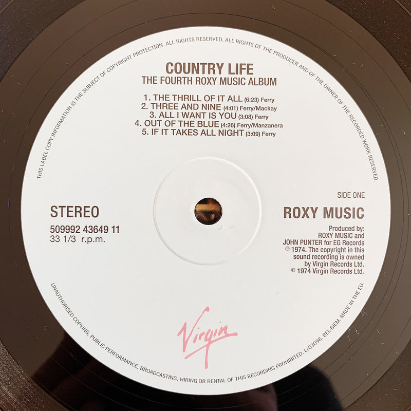 Roxy Music / Country Life LP