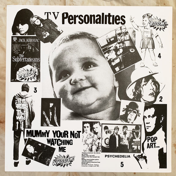 Television Personalities / Mummy You're Not Watching Me LP
