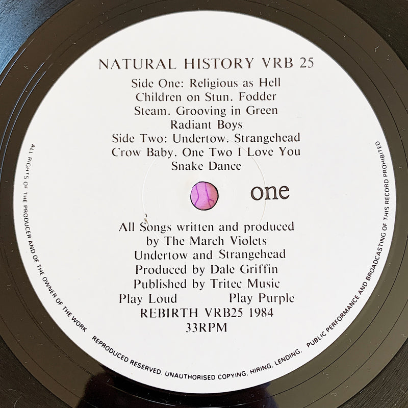 The March Violets / Natural History LP