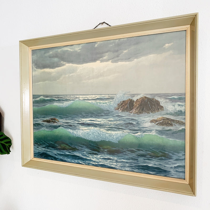 Vintage G Welters After The Storm Print