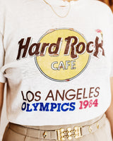Vintage Hard Rock Cafe Los Angeles Olympics 1984 Tee