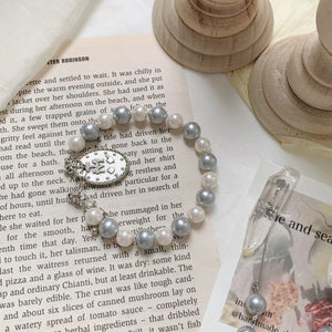 【she and sea.】medal sheandsea bracelet
