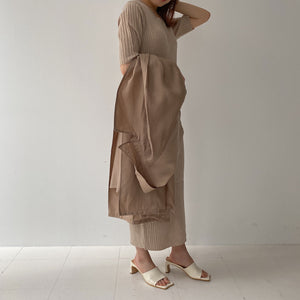 drape trench coat