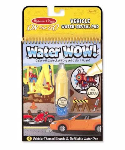 Melissa and Doug water wow - vehicle