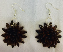 Load image into Gallery viewer, Cantaloupe Seeds earrings