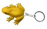 Singing coqui keychains