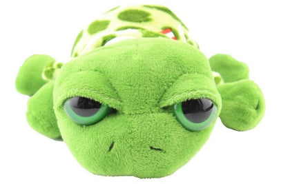 Plush turtle green