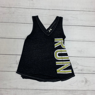 Primary Photo - BRAND:    CLOTHES MENTOR STYLE: ATHLETIC TANK TOP COLOR: CHARCOAL SIZE: XS SKU: 196-196112-48894
