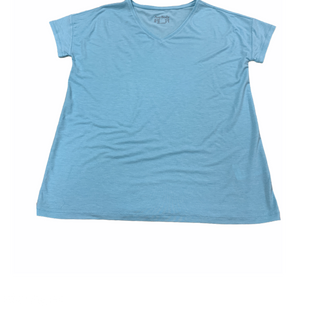 Primary Photo - BRAND: ANY BODYSTYLE: TOP SHORT SLEEVE BASIC COLOR: BABY BLUE SIZE: XXS OTHER INFO: ANY BODY - SKU: 196-19666-18281