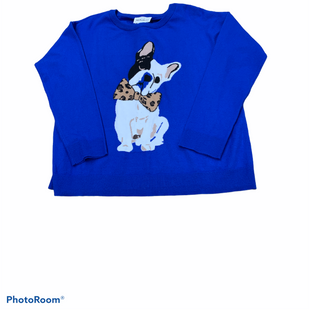 Primary Photo - BRAND: FOR THE REPUBLICSTYLE: SWEATER LIGHTWEIGHT COLOR: BLUE SIZE: S OTHER INFO: FOR THE REPUBLIC - SKU: 196-19681-73646