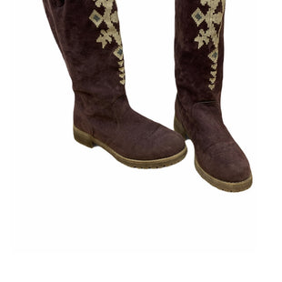 Primary Photo - BRAND: MUK LUKS STYLE: BOOTS KNEE COLOR: MAROON SIZE: 7 SKU: 196-14511-47105