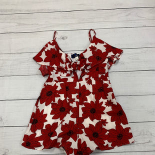 Primary Photo - BRAND: BLUE RAIN STYLE: DRESS SHORT SLEEVELESS COLOR: RED WHITE SIZE: L OTHER INFO: ROMPER SKU: 196-196135-2286