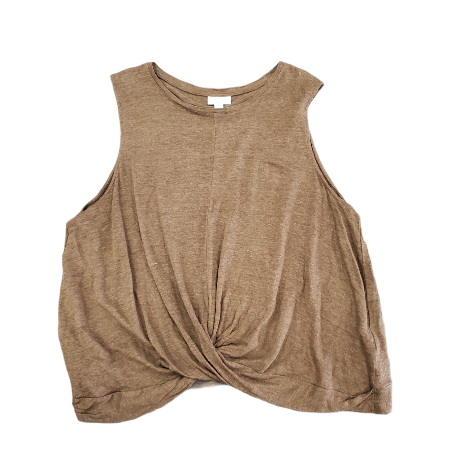 Primary Photo - BRAND: J JILL <BR>STYLE: TOP SLEEVELESS <BR>COLOR: BROWN <BR>SIZE: XL <BR>SKU: 196-196112-57023<BR><BR>100% LINEN