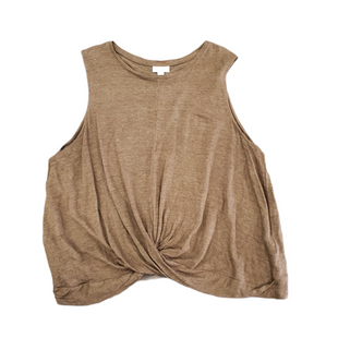Primary Photo - BRAND: J JILL STYLE: TOP SLEEVELESS COLOR: BROWN SIZE: XL SKU: 196-196112-57023100% LINEN