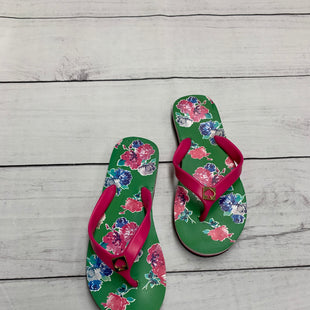 Primary Photo - BRAND: KATE SPADE STYLE: FLIP FLOPS COLOR: GREEN SIZE: 6 SKU: 190-190106-37102