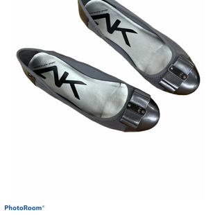Primary Photo - BRAND: ANNE KLEIN STYLE: SHOES FLATS COLOR: GREY SIZE: 7 SKU: 196-19666-16495