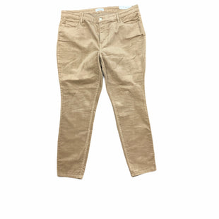 Primary Photo - BRAND: ANN TAYLOR LOFT STYLE: PANTS COLOR: TAN SIZE: 18 SKU: 196-196112-58157