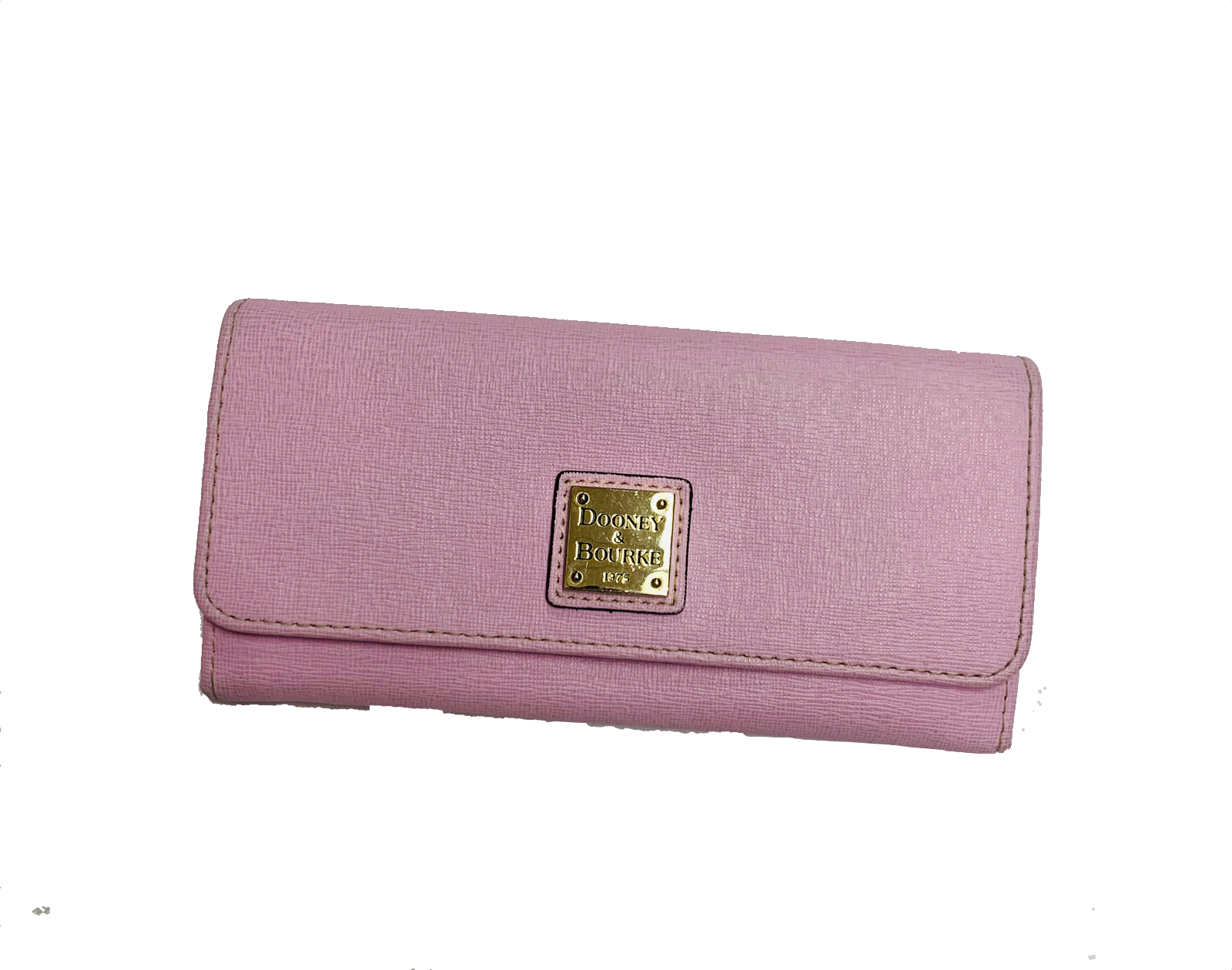 Primary Photo - BRAND: DOONEY AND BOURKE<BR>STYLE: WALLET<BR>COLOR: PINK<BR>SIZE: MEDIUM<BR>SKU: 196-196112-41629