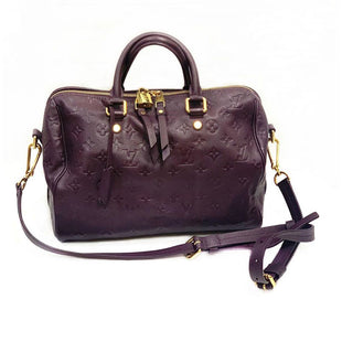Primary Photo - BRAND: LOUIS VUITTONSTYLE: HANDBAG DESIGNERCOLOR: PURPLESIZE: LARGEOTHER INFO: SP1163 SPEEDY 30 BANDOULIERESKU: 196-14511-43075