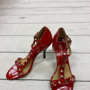 Primary Photo - BRAND: MICHAEL BY MICHAEL KORS STYLE: SANDALS LOW COLOR: RED SIZE: 7.5 SKU: 190-190125-22424