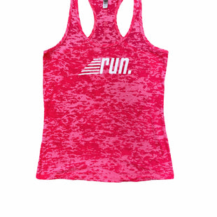 Primary Photo - BRAND: NEXT LEVEL APPAREL  STYLE: ATHLETIC TANK TOP COLOR: RED SIZE: L SKU: 196-196112-52293