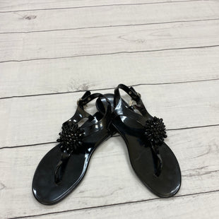 Primary Photo - BRAND: COACH STYLE: SANDALS FLAT COLOR: BLACK SIZE: 10 SKU: 190-190106-35475