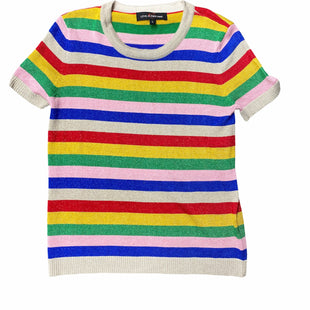 Primary Photo - BRAND:    CLOTHES MENTOR STYLE: TOP SHORT SLEEVE COLOR: MULTI SIZE: L OTHER INFO: LOVE AT FIRST FIND - SKU: 196-19666-17962R