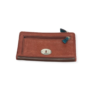 Primary Photo - BRAND: FOSSIL STYLE: WALLET COLOR: RUST SIZE: LARGE SKU: 196-19681-72941