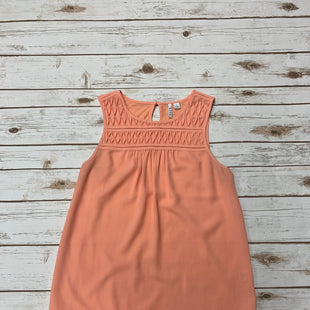Primary Photo - BRAND: ELLE STYLE: TOP SLEEVELESS COLOR: PEACH SIZE: M SKU: 196-196112-50753