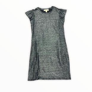Primary Photo - BRAND: MICHAEL KORS STYLE: DRESS SHORT SHORT SLEEVE COLOR: SILVER SIZE: PETITE   SMALL SKU: 196-19666-17467
