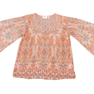 Primary Photo - BRAND:    BELLE KIM GRAVELSTYLE: TOP LONG SLEEVE COLOR: ORANGE SIZE: S SKU: 196-19681-72911