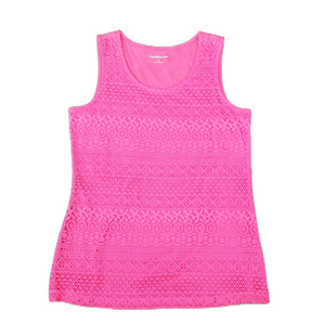 Primary Photo - BRAND: CROFT AND BARROW STYLE: TOP SLEEVELESS COLOR: PINK SIZE: S SKU: 196-196112-56981