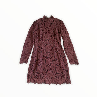 Primary Photo - BRAND:  GANNISTYLE: DRESS SHORT LONG SLEEVE COLOR: MAROON SIZE: 0 OTHER INFO: GANNI - SKU: 196-196112-50922